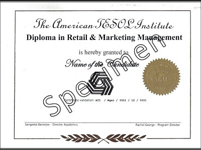 Diploma in Retail Marketing Management